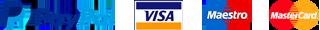 pagamenti paypal visa maestro master card